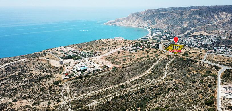land parcel 382 in pissouri  Limassol