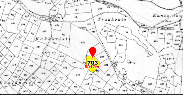 land parcel 703 in akaki  Nicosia