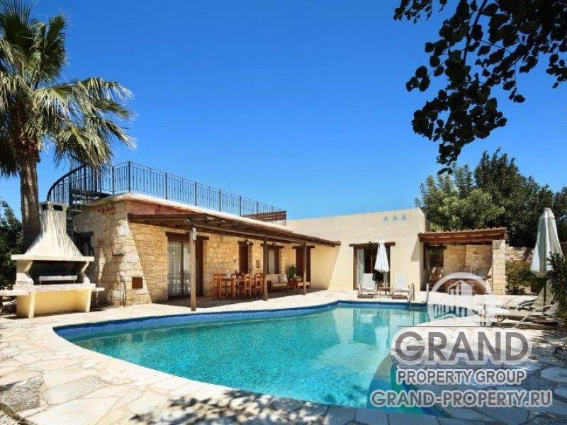 16132 - Paphos, Villa  м2 short term rent Paphos , Pegeia