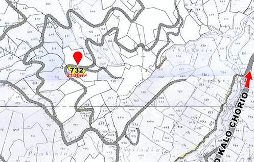 land parcel 732 in gourri  Nicosia