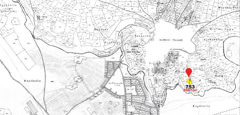 land parcel 753 in mammari  Nicosia