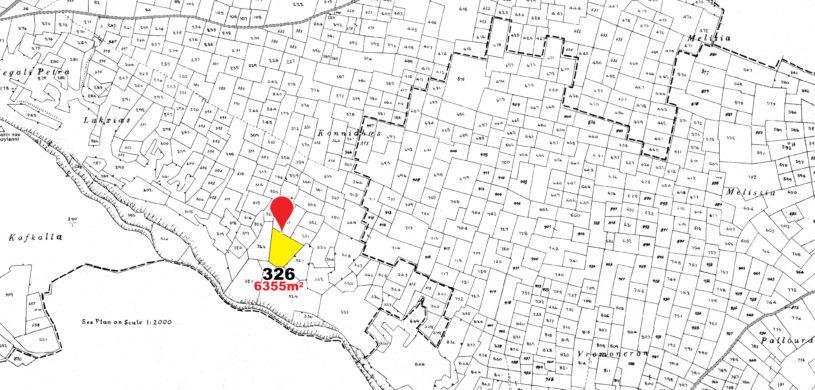 land parcel 326 in mammari  Nicosia