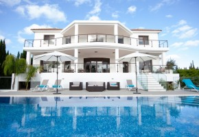 detached villa for rent in pegia st george paphos ref 14659