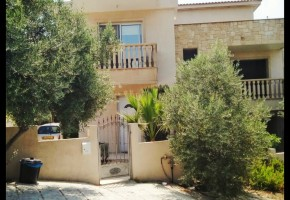 town house for rent in marathounta paphos ref 8744